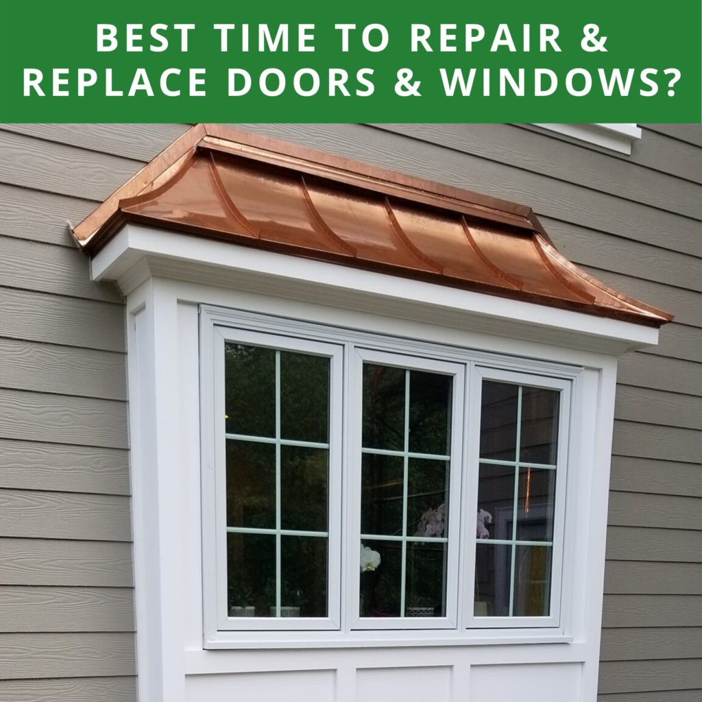 our home Window installation and replacement services example